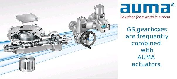 AUMA part-turn gearbox advancement – enhanced flexibility for sizing