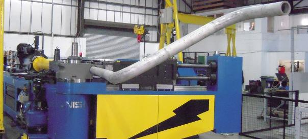 Precision tube bending performance reaches new users and applications