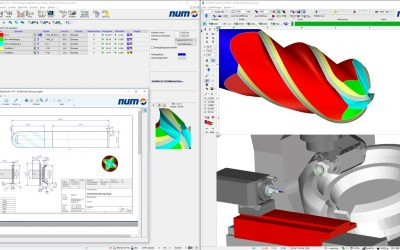NUM to unveil major new release of numroto tool grinding softwareat  GRINDTEC 2018
