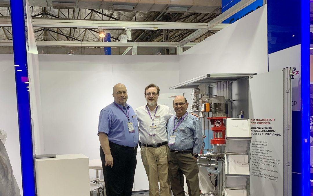 Bungartz Successful at the Chemtech Fair in India