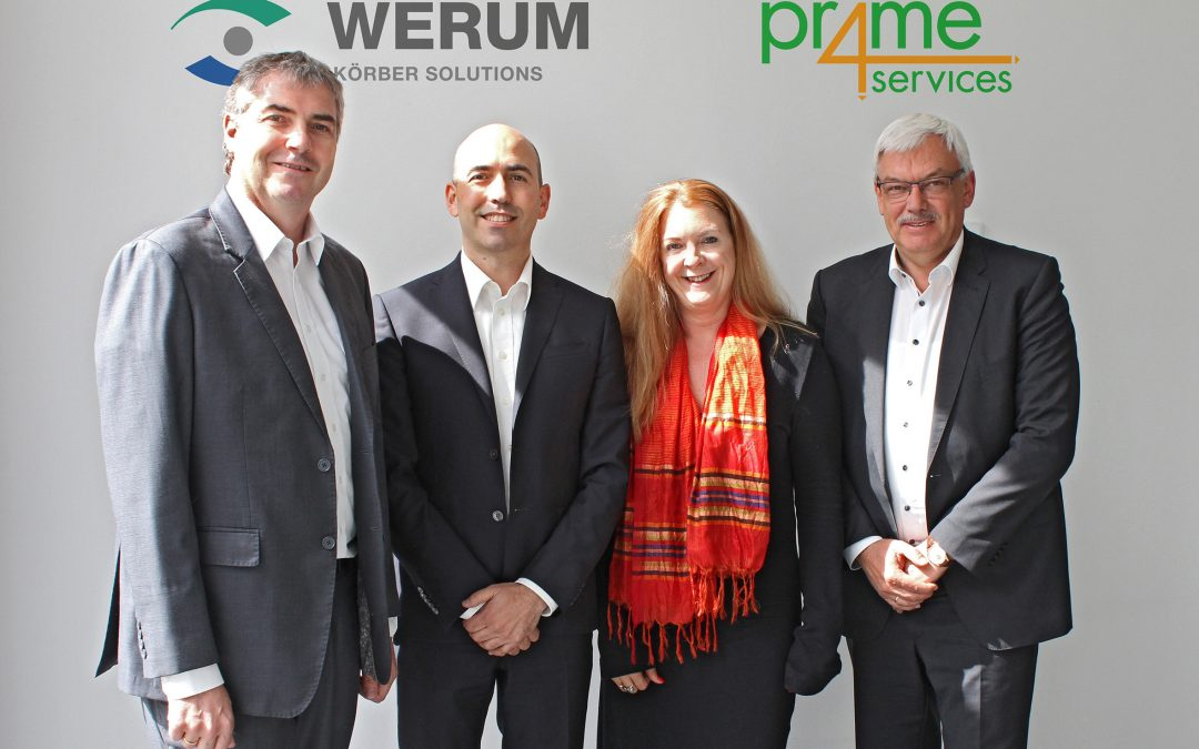 MES project excellence & implementation support:  prime4services and Werum IT Solutions enter service partnership