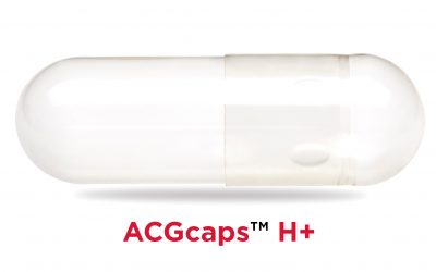 ACG Capsules introduces ACGcaps™ H+ a new line of Clean Label,  Inert and Robust HPMC Capsules