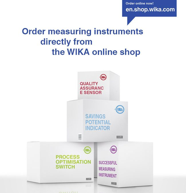 WIKA online shop:  Measurement technology directly from the manufacturer