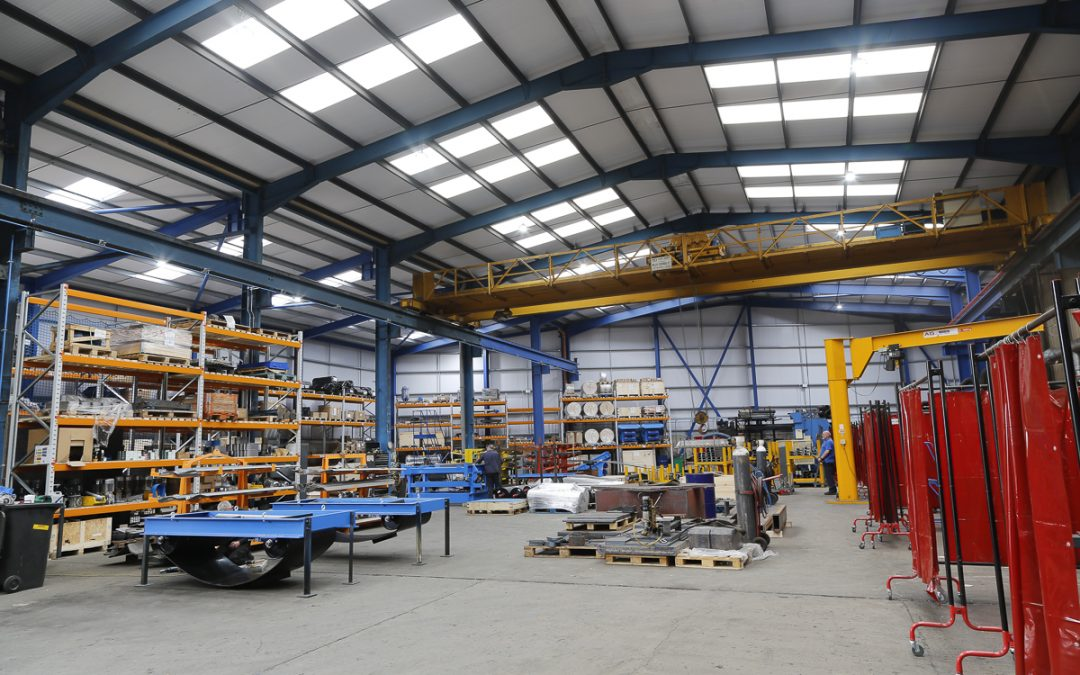 - The extended production facility